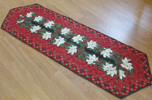 Extra Long Stipped Christmas Table Runner