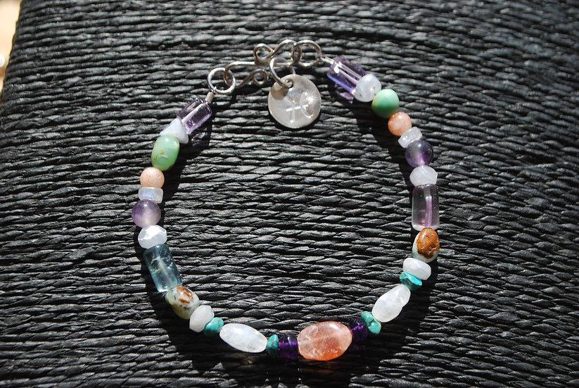 Pisces Multi Stone Bracelet