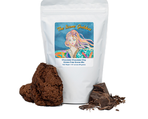 Gluten Free Double Chocolate Scone Mix by Artisan The Scone Goddess
