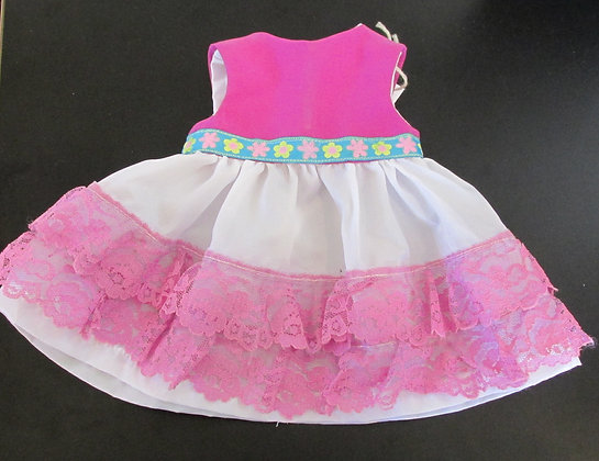 Party Dress Doll Outfit by Artisan Nancy Morin