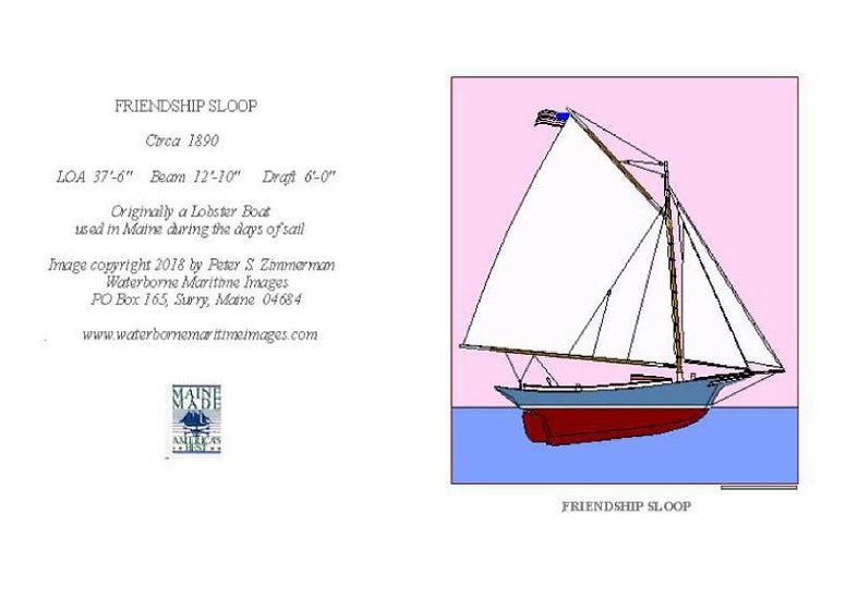 Blue Friendship Card