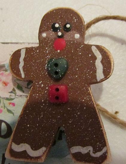Gingerbread Holiday Pin