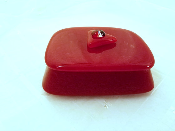 Little Red Box by Artisan Marie Bickford
