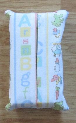 """Baby """"ABC"""" Tissue Holder"""