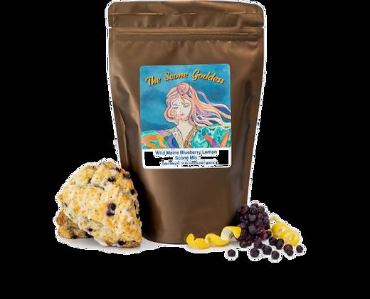 Wild Maine Blueberry Lemon Scone Mix by Artisan The Scone Goddess
