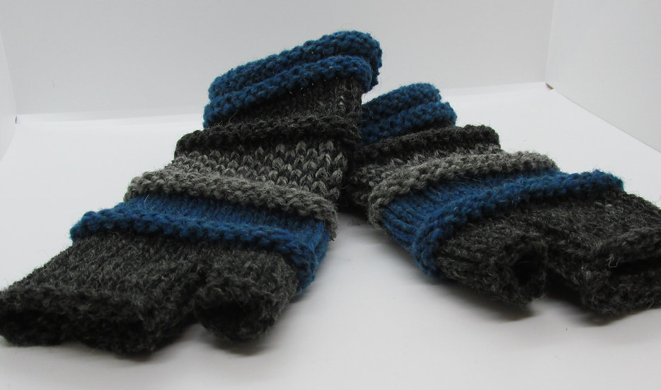 Knit Fingerless Mittens