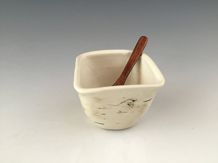Birch Pottery Handmade Dip Bowl