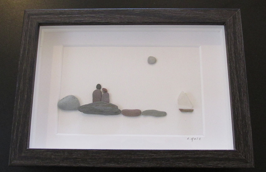 Dreaming On The Water, Framed Wall Hanging