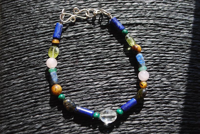 Taurus Multi Stone Bracelet