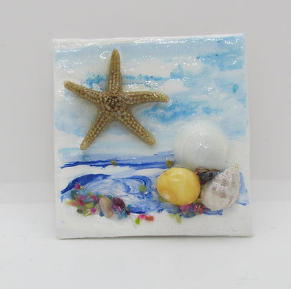 Beach Magnet by Artisan Karen Lannon