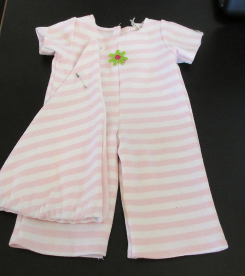 "15"" Bitty Baby Sleeper and Cap Doll Outfit"
