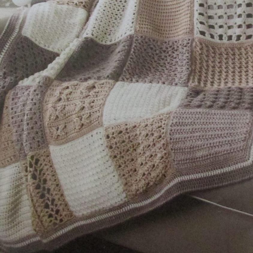 Winter Escape with Crocheting