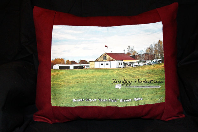 Brewer Airport Pillow by Artisan Bob Hirshberg