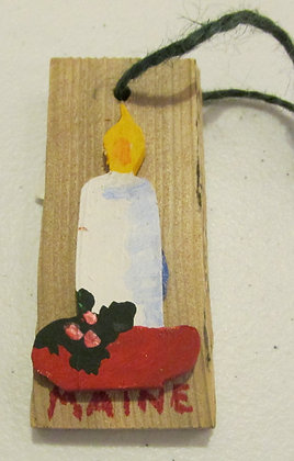 Candle ornament by Artisan Candace McKellar