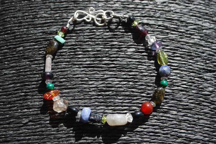 Capricorn Multi Stone Bracelet