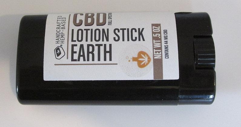 CBD Lotion Stick - Earth by Artisan Maine Hemp Works