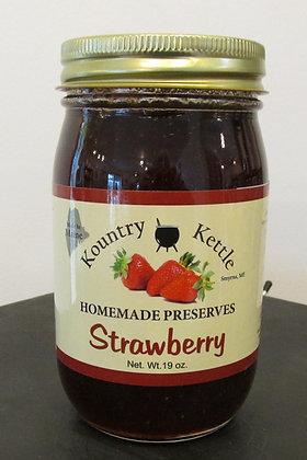 Strawberry Preserves by Artisan Kountry Kettle