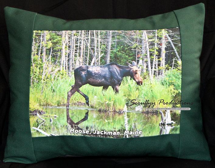 Moose Jackman Pillow