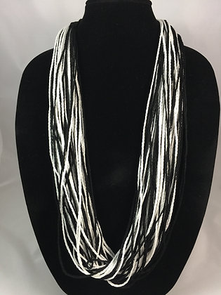 Ying Yang Shimmer Necklace by Artisan Jane Arey