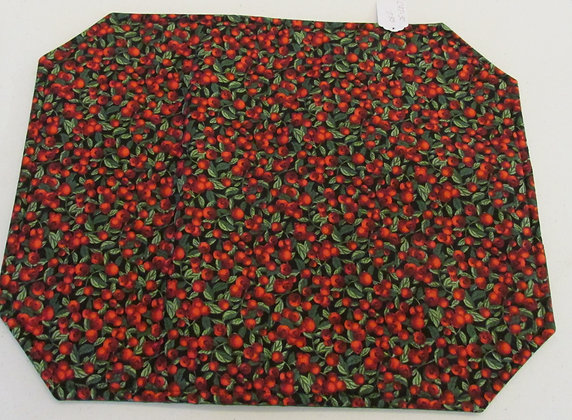 Cranberry Placemats by Artisan Pillow World