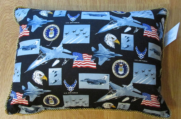We Salute Our Air Force by Artisan Pillow World