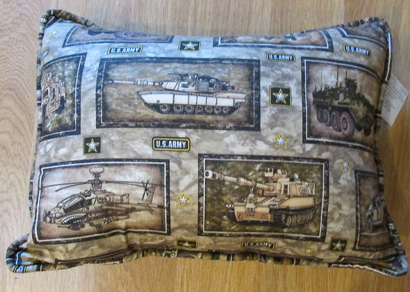 We Salute Our Army by Artisan Pillow World