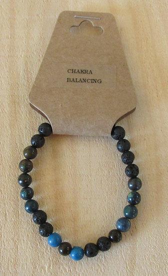 """""""CHAKRA - Balancing"""" Aromatherapy Stretchy Bracelet"""