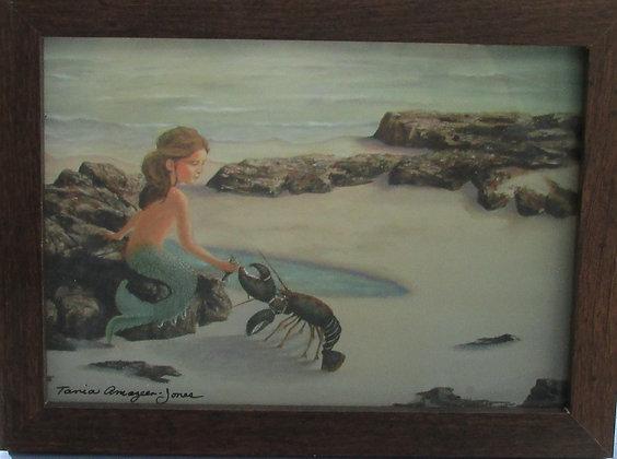 Mermaid Afternoon at the Beach by Artisan Tania Amazeen-Jones