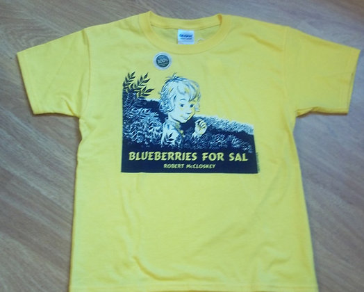 Blueberries for Sal Youth T-shirt by Artisan Liberty Graphics