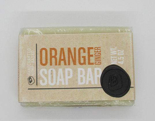 Bar Soap - Orange Ginger by Artisan Maine Hemp Works
