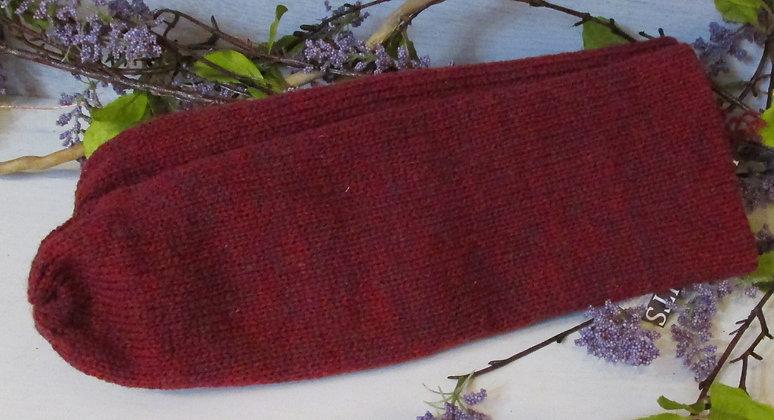 Serenade, Double Knit Wool Handknit Mittens