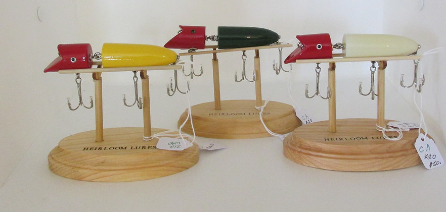 The Zig- Wag, Hand Crafted Fish Lure by Artisan Chris Augustus