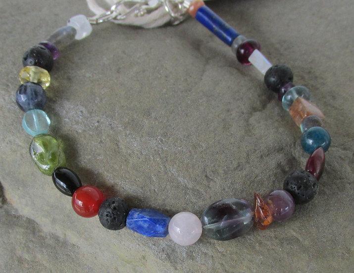 Menopause Support Multi Stone Diffuser Bracelet