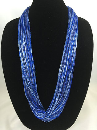 Silky Skies Shimmer Necklace by Artisan Jane Arey