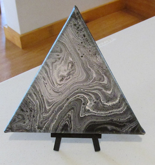Midnight Fog Triangle with Stand