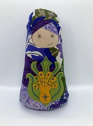 """Mabel"" BabiAnna Soft Faerie Doll by Artisan Kathy Beauregard"
