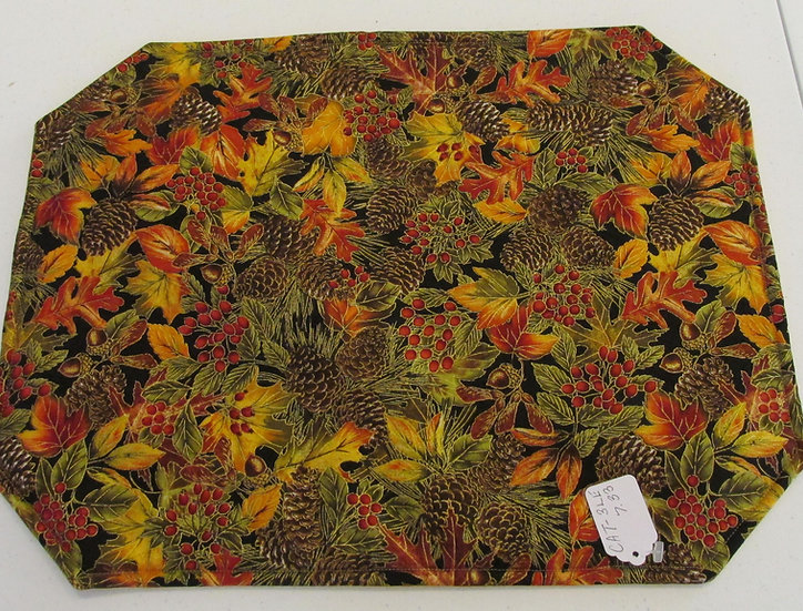 Fall Leaves Placemats