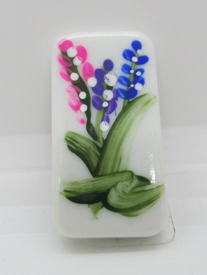 Small Lupine  Magnet