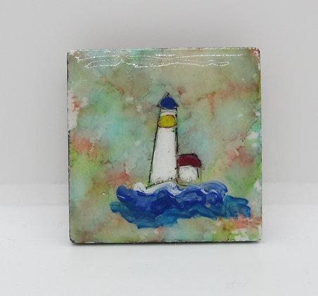Lighthouse Magnet by Artisan Karen Lannon