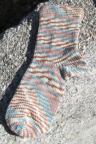 Ebb & Flow Bamboo Cotton Handknit Socks