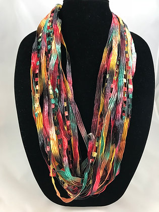 Southwest Ribbon Necklace by Artisan Jane Arey