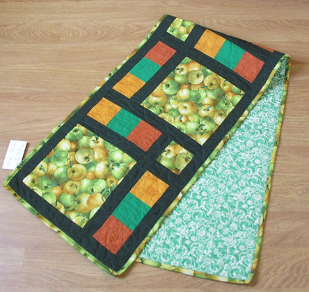 We LOVE Apples Table Runner by Artisan May Bouchard