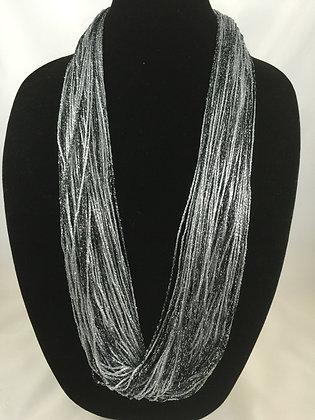 Ebony Shimmer Necklace by Artisan Jane Arey