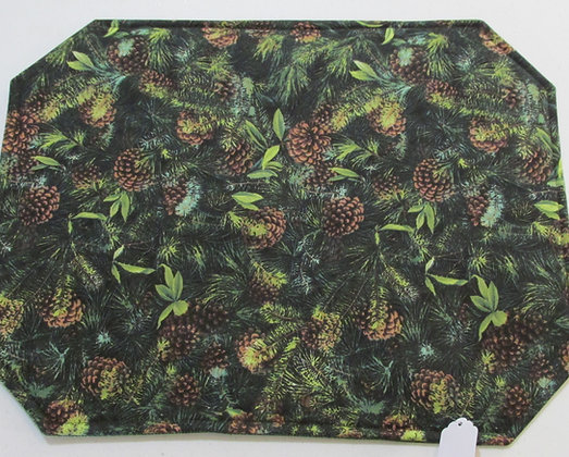 Pine Cones Placemats by Artisan Pillow World
