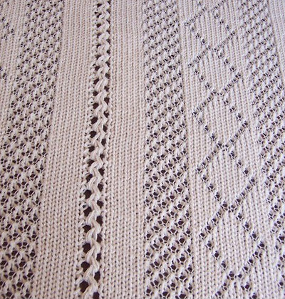 Thread Lace Afghan