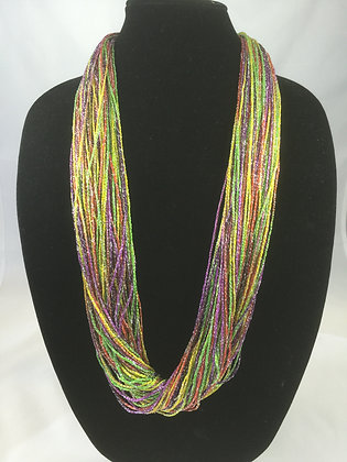 Rio Shimmer Necklace by Artisan Jane Arey