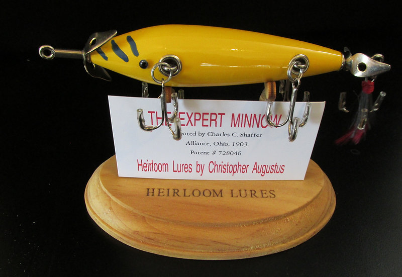 The Expert Minnow, Hand Crafted Fish Lure