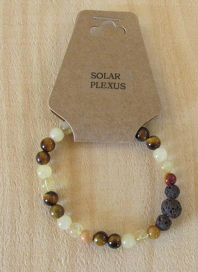 """CHAKRA - Solar Plexus"" Aromatherapy Stretchy Bracelet"