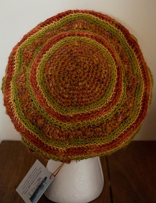 Fall Inspired Colors, Beret by Artisan Ann Kennedy