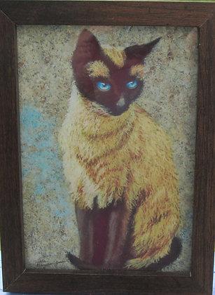 Siamese Cat by Artisan Tania Amazeen-Jones